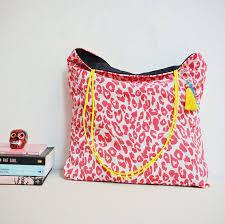 Items similar to <b>Animal print tote bag</b> , spring <b>fashion</b>, <b>leopard print</b> ...