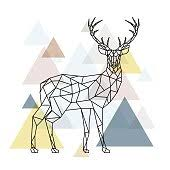 <b>Black And White Deer</b> Drawing at GetDrawings.com | Free for ...