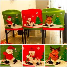 1Pc <b>Christmas Decoration Skiing</b> Santa Claus <b>Snowman</b> Elk Chair ...