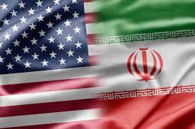 Image result for IRAN-USA FLAG