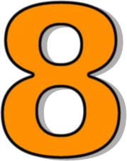 Image result for NUMBER 8