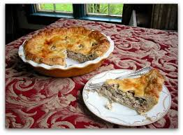 one of my favorite pie recipes savory Chanterelle Mushroom Pie