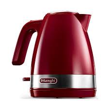<b>Чайник электрический Delonghi KBLA</b> 2000.R 1л. 2000Вт красный