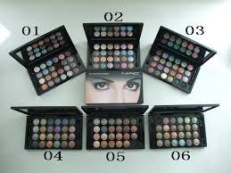 mac 24 colors eyeshadow