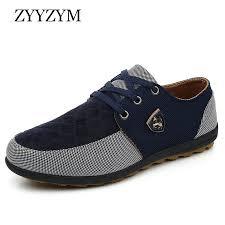 <b>ZYYZYM Men Casual</b> Shoes 2019 Spring Autumn Lace Up Style ...