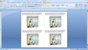 how to make four postcards on the same sheet in word burris foak step 2a open four postcards on the same sheet template microsoft word <sup>