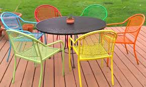 view in gallery repainting wrought iron is easywith spray paint attractive rod iron patio
