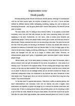 argumentative essay on death penalty against it   writing a good essayargumentative essay on death penalty against it