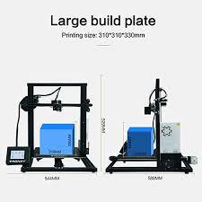 <b>TRONXY</b> XY-3 3D Printer Pro Printing with <b>Large</b> Print <b>Size</b> Full ...