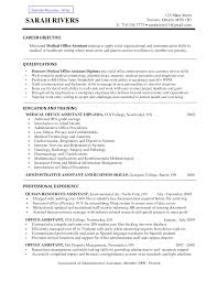 resume objective examples for medical assistant  day coresume objective examples for medical assistant