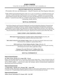 resume template  dental hygiene resume objective get hired rdh        resume template  sample registered dental hygiene resume for objective with education and certifications or experience