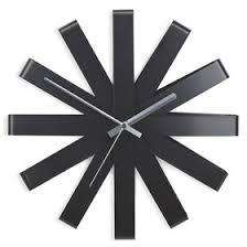 <b>Часы настенные Ribbon</b>, <b>чёрныe</b> (2844019) - Купить по цене от 4 ...