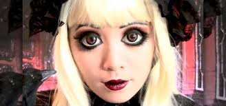 how to get a gothic doll makeup look inspired by anime