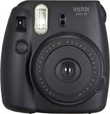 Buy <b>Fujifilm Instax Mini</b> 8 Instant Film Camera (<b>Black</b>) Online at Low ...