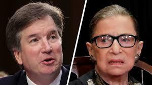Brett Kavanaugh or Ruth Ginsburg: Conservatives Chuckle at Dems ...