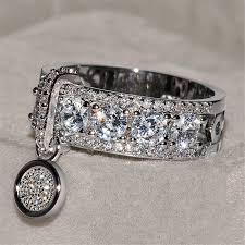 ZORCVENS <b>New Arrival Vintage Rose</b> Gold Filled Wedding Rings ...