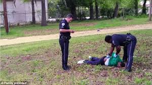 Image result for POLICE SHOOT BLACK MAN PHOTO