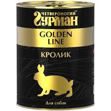 <b>Корм для собак Четвероногий</b> гурман Golden line кролик ...