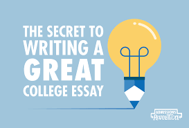 writing a great college essay