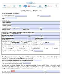credit card auth form hilton authorization pdf word card it
