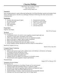 automotive resume sample mechanic resume job resume job sample sample automotive technician resume automotive mechanic resume sample