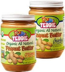 <b>Organic</b> All <b>Natural</b> Varieties | Teddie <b>Natural Peanut Butter</b>