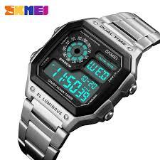 SKMEI Fashion <b>Digital Watch Men</b> Women Couple Wristwatches ...