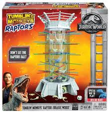 Настольная <b>игра Mattel</b> Раптор-акробат FLK75 — купить по ...