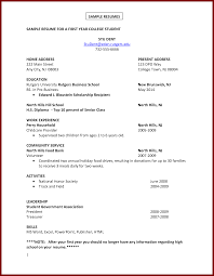 15 college student resume samples no experience sendletters info sample resume for a first year college student stu dent student by