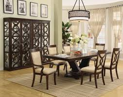 Big Dining Room Large Dining Room Table Seats 8 Mesmerizing Round Dining Room