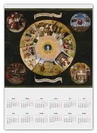 <b>Календарь А2</b> Семь смертных грехов (Иероним Босх) #2262909 ...
