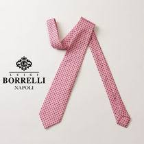 Shop <b>LUIGI BORRELLI</b> 2018 SS Flower Patterns Silk Ties by ...