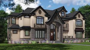 New House Plans for August   Family Home Plans BlogNew European Tudor House Plan