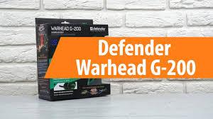 Распаковка <b>Defender Warhead G</b>-200 / Unboxing <b>Defender</b> ...