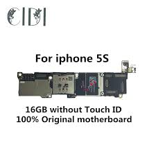 CIDI 100% Original unlocked for iphone 5S Motherboard without ...