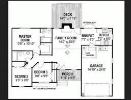 denah rumah 1 lantai dengan 3 kamar tidur: Gambar denah rumah 3 kamar tidur 1 lantai minimalis mewah