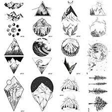 12 Pieces/Lot Geometry Triangle Mountain ... - Amazon.com