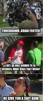 Arian Foster Is Dismissive memes | quickmeme via Relatably.com