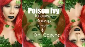 poison ivy diy costume makeup