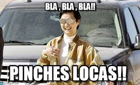 Bla , Bla , Bla!! - Mr Chow meme on Memegen via Relatably.com