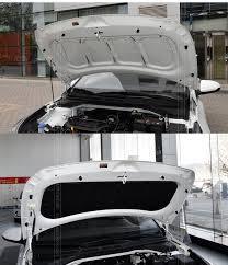 <b>Утеплитель</b> - <b>шумоизоляция капота</b> Mobis для Hyundai Solaris 2017