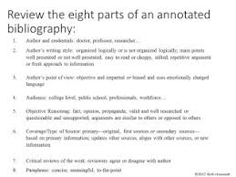 MLA Formatting How To  Annotated Bibliography   YouTube SlideShare