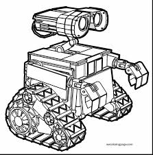 Small Picture Coloring Pages Robots