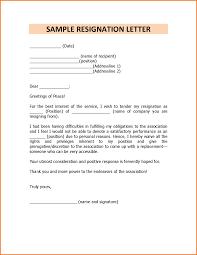 school resignation letter template resignation letter format letter school resignation letter sample sample template of resignation