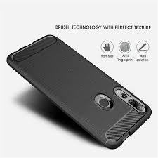 Casing Huawei Y9Prime <b>2019</b> Case Soft <b>Carbon Fiber</b> Bumper ...