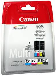 Купить картридж и тонер для принтеров/МФУ <b>Canon CLI</b>-<b>451</b> C/M ...