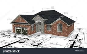 Red Brick House Plans Stock Photo    ShutterstockRed Brick House Plans Preview  Save to a lightbox