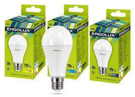 Купить <b>Светодиодная лампа Ergolux LED</b>-A65-20W-E27-4K по ...