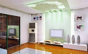 m alluring home living room design ideas with white sofa also wooden laminated floor and wall mounted tv also component shelves and recessed lights with alluring home lighting design hd images