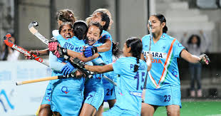 Image result for women hockey team in india